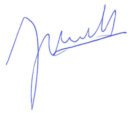 Jean-Antoine Girault signature